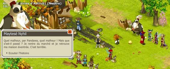"""[Spoil] Cross-gaming entre Dofus et Dofus Arena : L'émote """"rire"""" Screen2"""